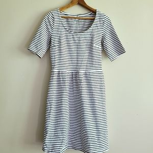 3/$20 old navy • striped fit and flare dress